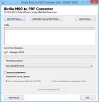 Convert MSG to PDF screenshot medium