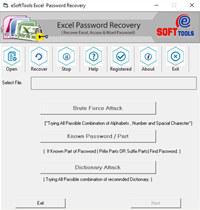 MS Excel Password Recovery screenshot medium