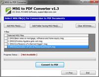 Outlook Export Email to PDF screenshot medium
