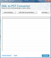 Extract EML files into Outlook PST screenshot medium