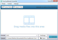 Free Audiobook Converter screenshot medium