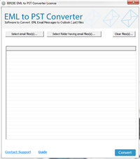 Import EML into PST Converter