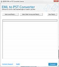 Import EML into PST Converter